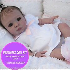 "Reborn Kendal baby doll unpainted kit ~ sculpted by Pat Moulton makes 22"" reborn"