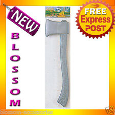 A69 Wizard of Oz Tin Man Axe Halloween Fancy Dress Costume Accessories