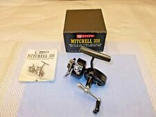 Vintage Early Garcia Mitchell 308 UL Spin Reel with Original Box Top Only