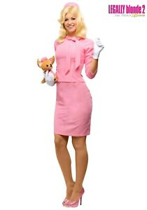 Women's Legally Blonde Elle Woods Costume SIZE L (with defect)