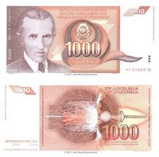 Yugoslavia 1000 Dinara 1990 P-107 Banknotes UNC