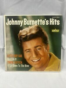 JOHNNY BURNETT - JOHNNY BURNETTE'S HITS, LIBERTY LSX 1011, 45 EP, RARE !