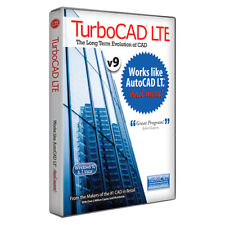 TurboCAD LTE Standard v9 CAD Software Works like AutoCAD LT -- Download