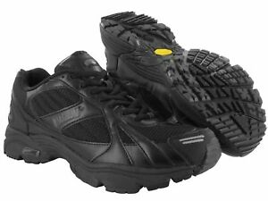 Magnum Must Black Mesh Running Trainers Shoes UK 12 M.O.D. Cancelled Order