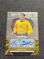 2018 Prizm World Cup RIVALDO Auto Card BRAZIL