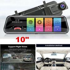"10"" 1080P Rearview Mirror Car DVR Dash Video Cam Mirror Recorder Night Vision"