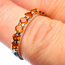 Citrine 925 Sterling Silver Ring Size 6 Ana Co Jewelry R27915F