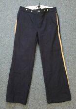 Civil War Reenactor Union Army Trousers Dark Blue Wool Split Back