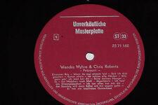 WENCKE MYHRE & CHRIS ROBERTS - LP Musterplatte Promo VEB Amiga AWA DDR