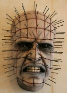 HELLRAISER MOVIE RARE PINHEAD PAINTED DISPLAY PROP BUST BY MOVIE FX DESIGNER