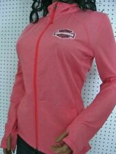 nwt HARLEY DAVIDSON *Embers of Night Synthetic Full Zip Mock Pink Shirt Jacket