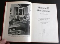 Household Management Illustrated by Odhams Press, Hardcover 1950, Good