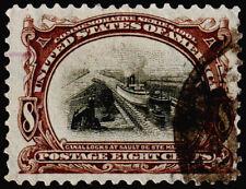 United States Scott 298 (1901) Used F, Cv $50.00 C