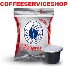400 Capsule Cialde Caffè Caffe Borbone Respresso Rossa Red compatibili Nespresso