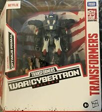 TRANSFORMERS WAR FOR CYBERTRON TRILOGY NETFLIX MAXIMAL OPTIMUS PRIMAL ACTION FIG