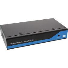 DisplayPort a HDMI 2x2 Video Separador De Pared 1 en 4 salidas 4K UHD