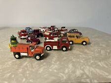 Tootsie Toy Lot - (14) 1970 s Tootsietoy Cars Trucks Jeep Vw Trailers Assorted