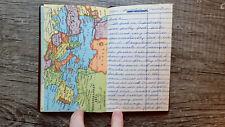 Circa 1959-1960 Handwritten Travel Diary American Female Ice Skater World Tour