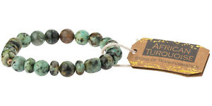 Scout Curated Wears AFRICAN TURQUOISE STONE Stacking Bracelet TRANSFORMATION