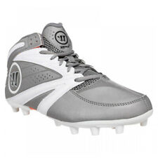 New listing New Mens Warrior 2nd Degree 3.0 Lacrosse Cleats Grey/White Size 11.5 M Ret