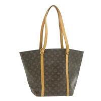 LOUIS VUITTON Monogram Sac Shopping Tote Bag M51108 LV Auth gt573
