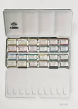 Schmincke HORADAM® Aquarell Metallkasten 24 Napf Malkasten Aquarellfarbe Kasten