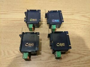 Lot of 4 DCC concepts Cobalt Digital Switch Control