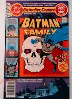 Detective Comics #481 DC 1978 VF- Comic Book Batman Family Batgirl Robin Man-Bat