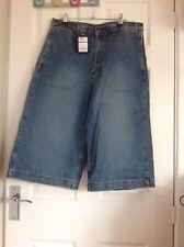 Bleubolt London Iquitos Denim 3/4 Length Shorts