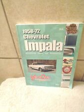 1958-1972 chevrolet impala restoration parts and accessories  book year one