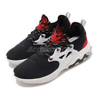 Nike React Presto Black Phantom Red Men Running Shoes Sneakers AV2605-002