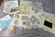 Lot Vintage Trichem Ready to Paint Panels Sun-Glo 1980s Dogs Balloons House