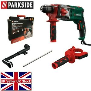 Parkside 1100 W 2-Speed Hammer Drill For Concrete Stone Metal Wood PSBM 1100 B1