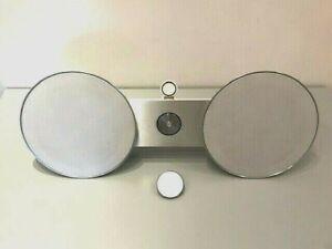 Bang & Olufsen BeoSound 8 iPod Dock Speaker Silver Grey White Free Bluetooth 2