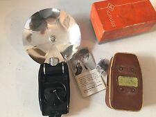 VINTAGE Agfalux Pocket Flashgun With original case/box & manual