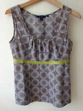 Boden Brown Top Size 8