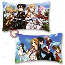 Sword Art Online Kirito/Asuna Hugging Body Pillow Case Cover 35cm*55cm#M-R-88