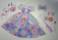 Takara Licca Friend Princess Doll Dress Accessories Tiara Jewellery Japanese
