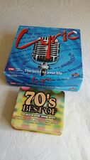 LYRIC BOARD GAME-The Lyric to Your Life & 70's BEST OF-5 CD COLLECTOR EDITION