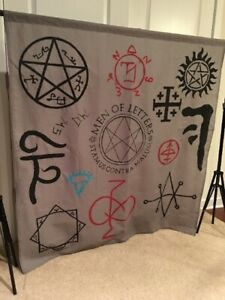 "Wall Hanging Custom Supernatural Cotton Linen Tapestry Home Decor 54"" by 54"""