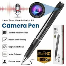 Portable Pocket Pen Camera Hidden Spy Mini Body Cam Audio Video Recorder DVR