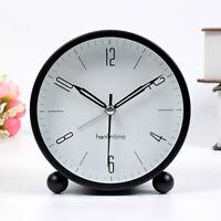 10cm Small Silent Sweep Kids Student Luminous Table Alarm Clock