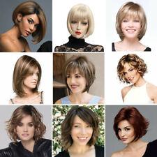 Fashion Lady Women Synthetic Short Curly/Wavy/Straight Wigs Bob Pexie Full Wig