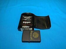 Zippo Ruger Lighter -Red Sticker- Never Struck, Matt Black, Vintage 1990's