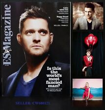 MICHAEL BUBLE JEFFERSON HACK MUZUNGU SISTERS ANNIE LENNOX ES MAGAZINE NOV 2011