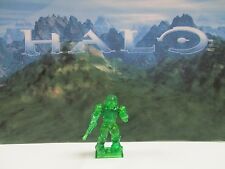 Halo Mega Bloks 2012 Series 7 Mystery Trans Green Spartan Warrior CHASE
