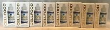 8 Bottle Lot Original CELLFOOD 1 FL OZ Lumina Health Sealed in Box