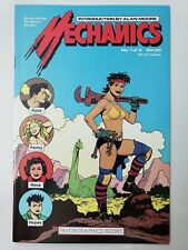 MECHANICS #1 (1985) FANTAGRAPHICS COMICS ALAN MOORE INTRO! LOVE & ROCKETS! NM