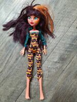 Monster High Doll Freaky Fusion Cleolei Cleo Toralei