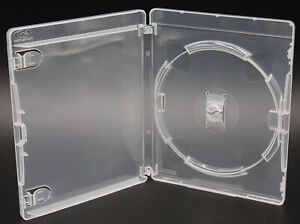 New PlayStation 3 PS3 14mm Clear Video Game Replacement Storage Shell Box Cases